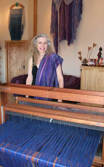 Wendy at the Loom